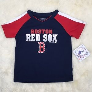Other - New Boston Red Sox V Neck TShirt Blue Toddler